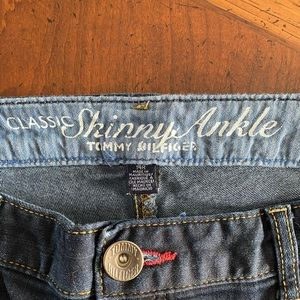 Tommy Hilfiger classic skinny ankle stretch jeans